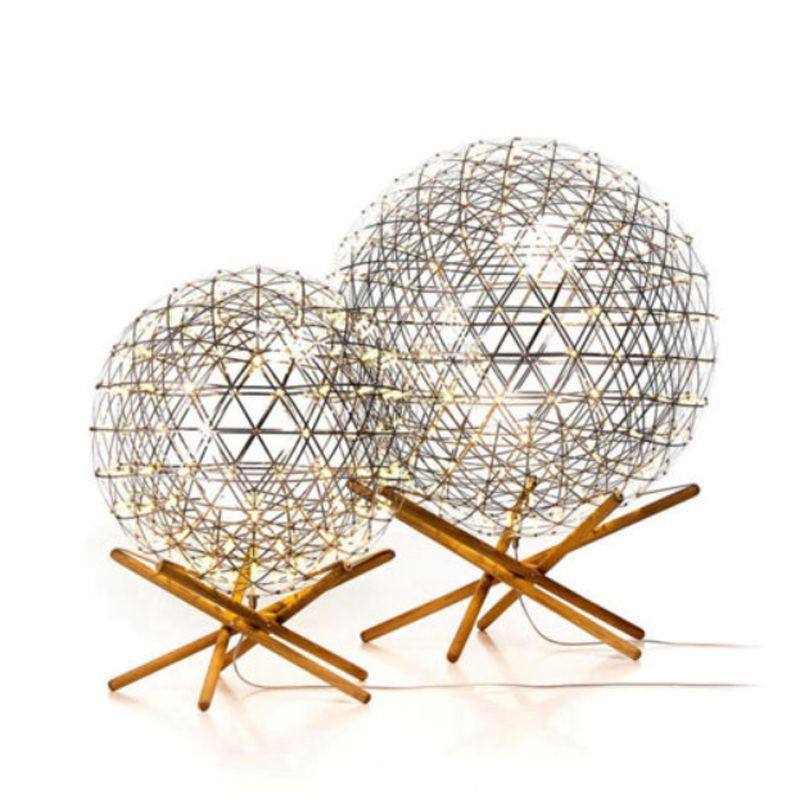 Modern brief Loft spark ball LED floor lamp fixture Firework Ball stainless steel wood home deco lighting 110-240V