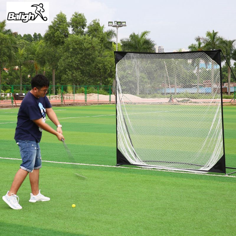 Balight New 7*7 Golf Training Target Net Exercise Mesh Net Multi-Touch Flat Hitting Cages Net W1