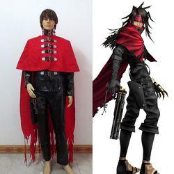 Anime Final Fantasy FF05 Vincent Valentine Cosplay Kostüm Nach Maß Freies Verschiffen
