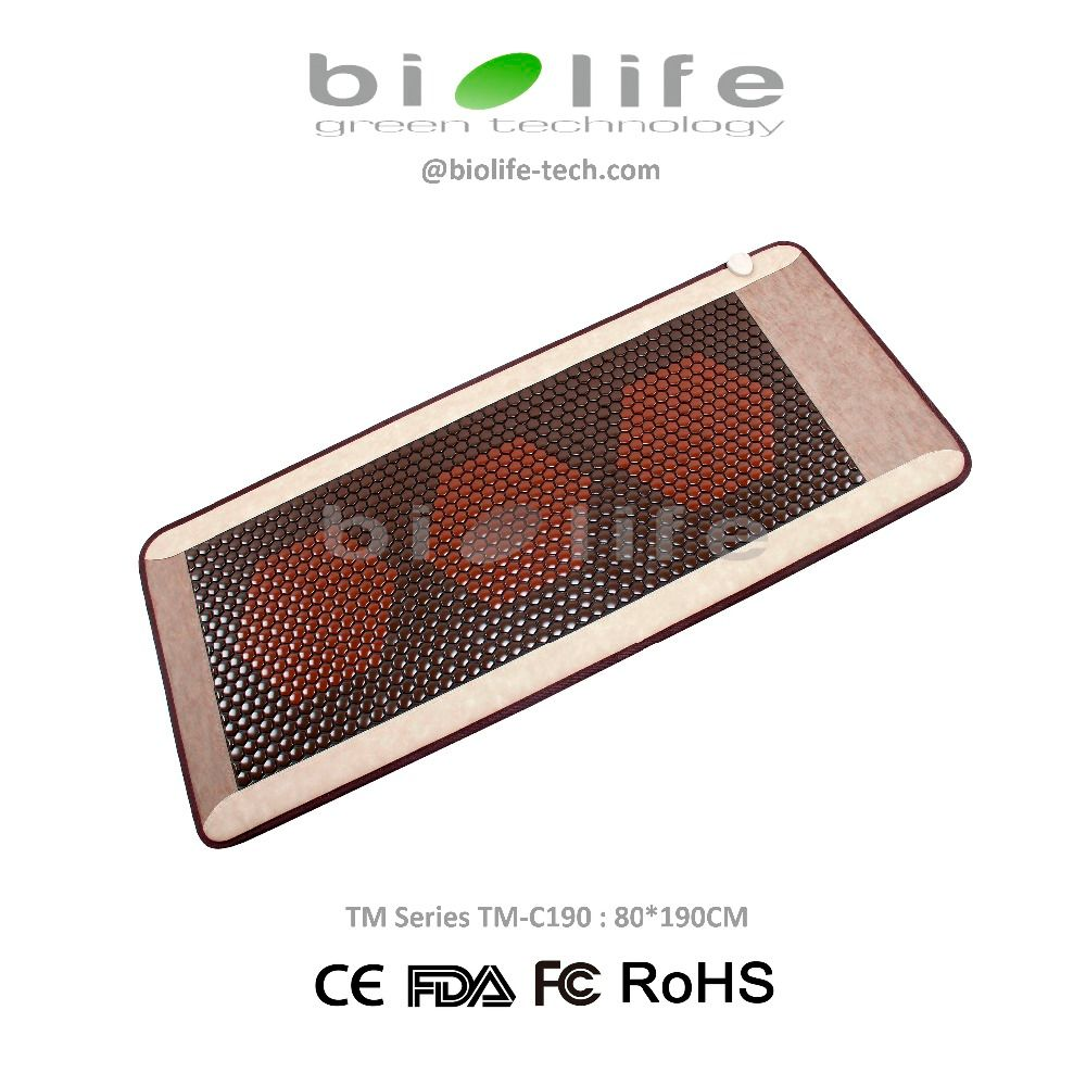 Ceratonic Thermal Infrared Therapy Korea Tourmaline Ceramic Stone Health Mattress use on ceragem Massage bed similar infrared