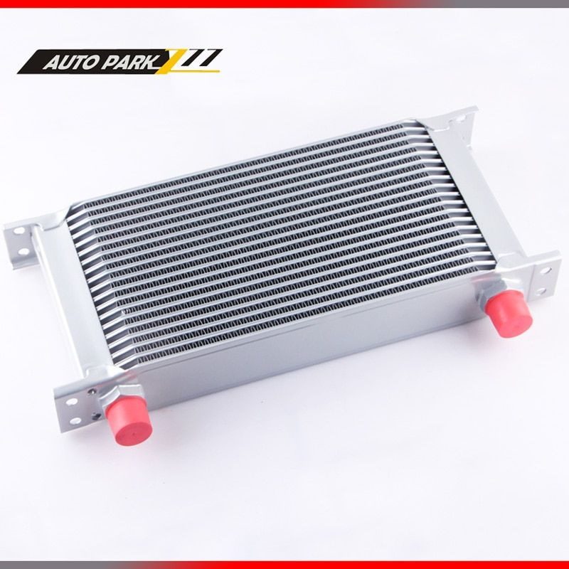 19ROW AN10 universal aluminum engine tranmission racing oil cooler