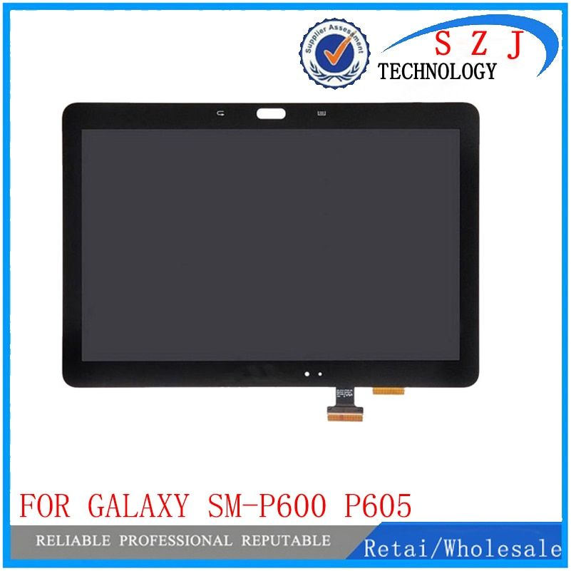 New 10.1 inch For Samsung Galaxy Note 10.1 SM-P600 P605 P600 LCD Display Touch Screen Digitizer Glass Assembly LCD combo