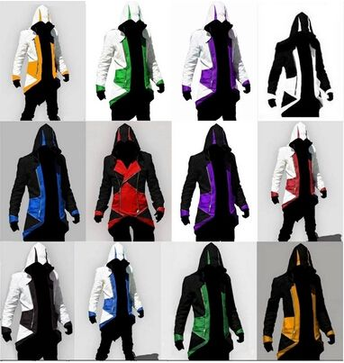 Plus Size Assurance 3 New Conner Kenway Men's jacket anime cosplay clothes assassins creed costumes for boys kids womens