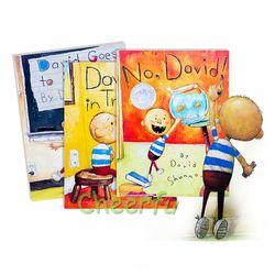 Shannon 3 Gaya Buku Tidak David David, David Mendapat dalam Kesulitan, David Kognitif Gambar Buku Untuk Anak-anak Pergi ke Sekolah Stoies