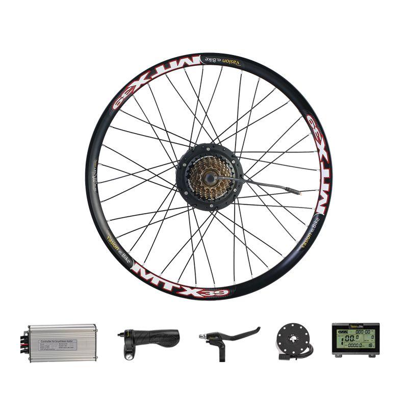 500W Motor Wheel Electric Bicycle Conversion Kit with BAFANG 48V 500W Rear Hub Motor Brushless Gear Rear Hub Motor Kits