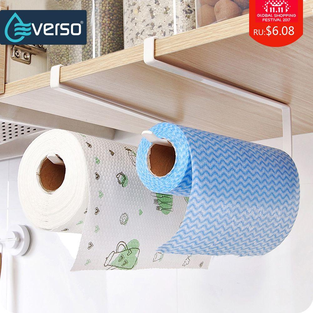 Küche Kabinett Hängen Regal Toilettenpapierhalter Papier Rack Papierrollenhalter Handtuchhalter Bad-accessoires