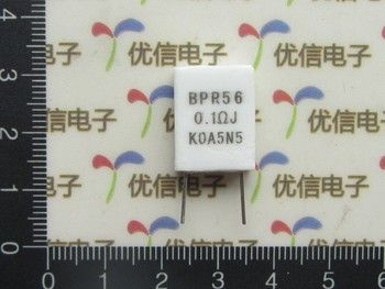 10 pcs 0.1R 5 W Non-inductive Résistance BPR56 0.1Ohm 5% 0.1R Ciment résistance 0.1 ohm