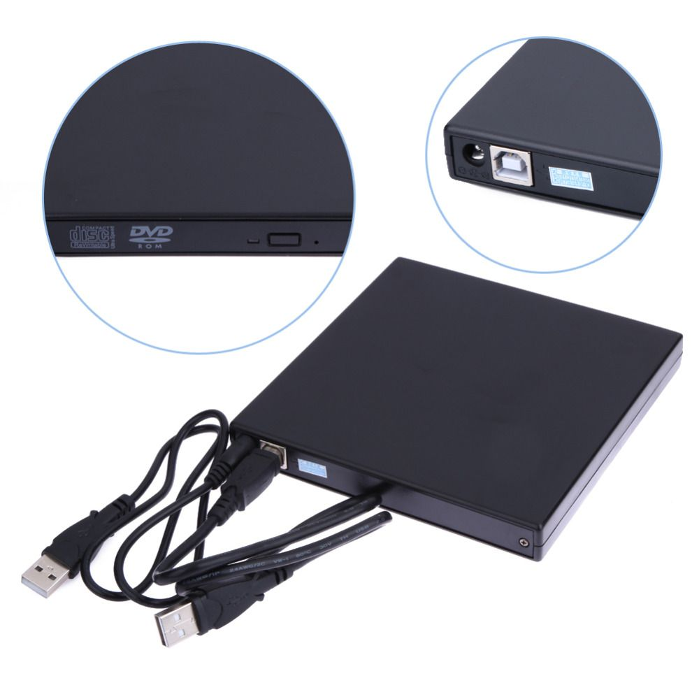2017 Лидер продаж USB 2.0 Внешний DVD Встроенная память плеер чтения COMBO CD-RW привод для горелки PC Высокое качество