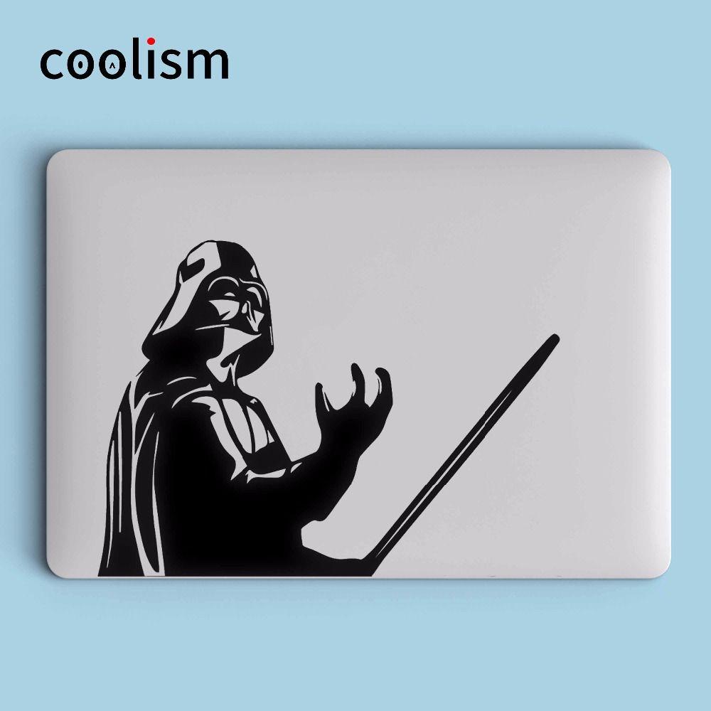 Звездные войны Дарт Вейдер ноутбука Стикеры для MacBook Наклейка Air/Pro/Retina 11 12 13 15 дюймов компьютер mac кожи pegatina Para notebook