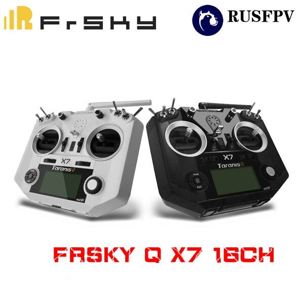 FrSky ACCST Taranis Q X7 Transmitter 2.4G 16CH Mode 2 Left Throttle For RC Hobbies Helicopter Fixed-Wing FPV Racing Drone