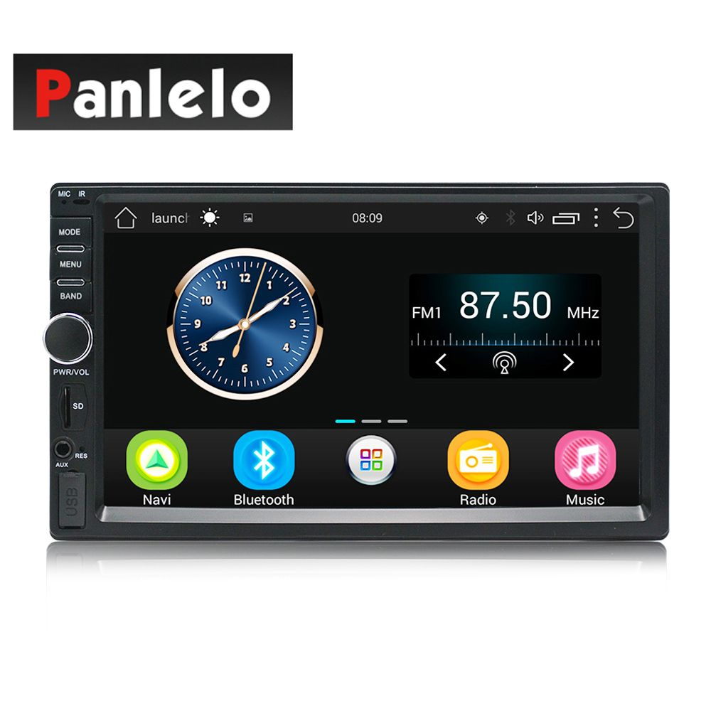 Auto Radio 2 Din Android GPS Navigation Car Radio Car <font><b>Stereo</b></font> 71024*600 Universal Car Player Wifi Bluetooth USB Audio