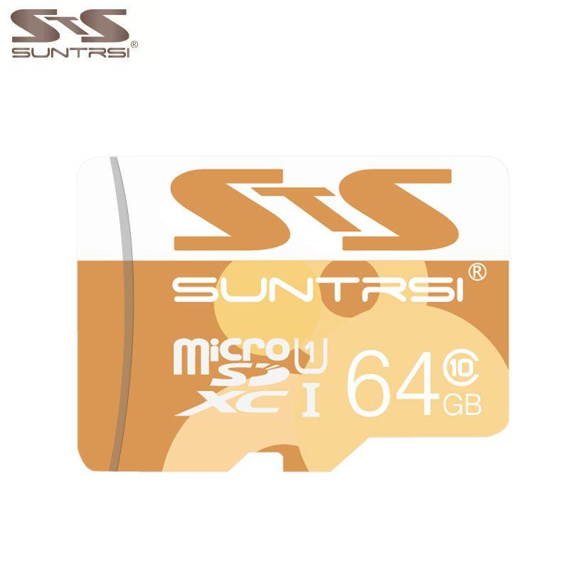 Suntrsi Real Capacity Memory Card 64GB Micro Sd Card 32GB Class10 Microsd Card High Speed for Phones MP3 Memory Card
