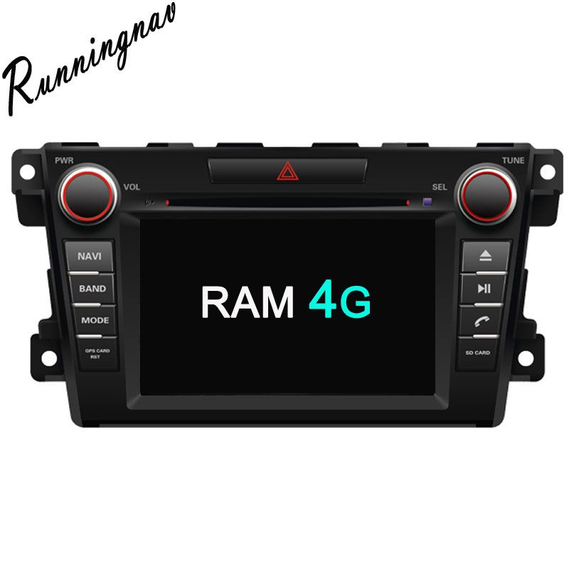 Octa Core RAM 4G ROM 32G Android Fit MAZDA CX-7 2007 - Car DVD Player Navigation GPS Radio