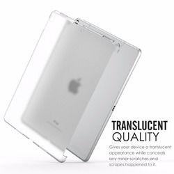 Kristal Kasus untuk 2017 iPad Apple Pro 10.5 Inch Batal Soft Gel TPU Silicone Cover untuk iPad Pro 10.5