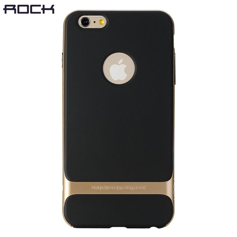 Rock Royce чехол для телефона iPhone 6 6S 6 plus, PC + TPU ультра-тонкий роскошный задняя крышка для iPhone 6 анти стук телефон В виде ракушки