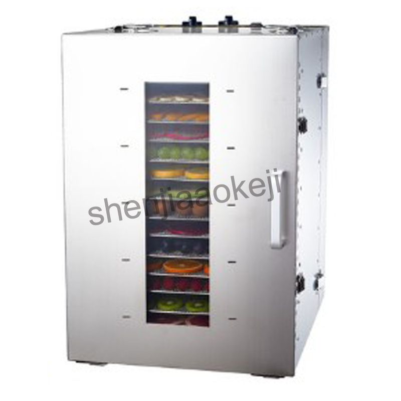 commercial dried fruit dehydrator 16-layers stainless steel food Dehydrator ST-02 Dried Fruit Machine Fruit Dewatering Dryer 1pc