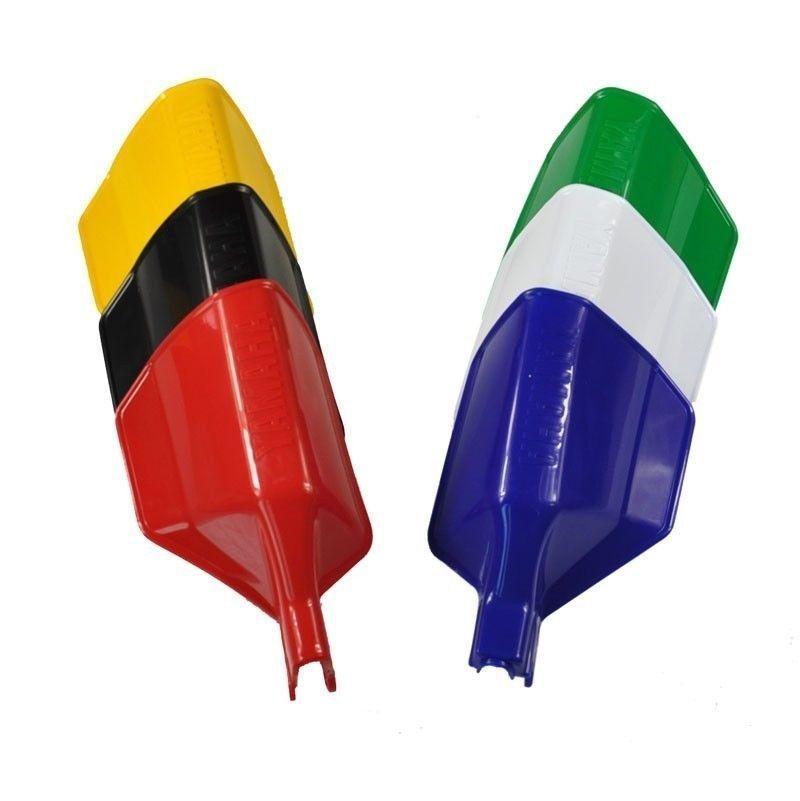 LOPOR Plastic Brush Handguard For Yamaha XT350  Tenere XTZ750 TT350 TT600  TT 350 600 One Pair Black
