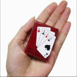 Playing Poker CardsPortable Mini Small Poker Interesting Playing Card Board Game Outside Outdoor or Travel Mini Size Pokers