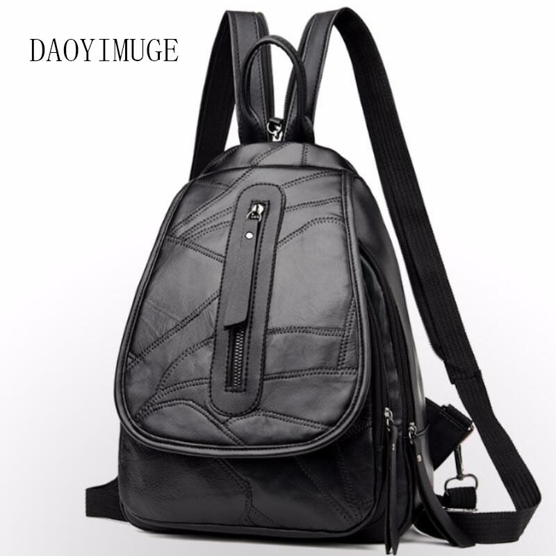 Multi-function female chest bag large capacity student backpack