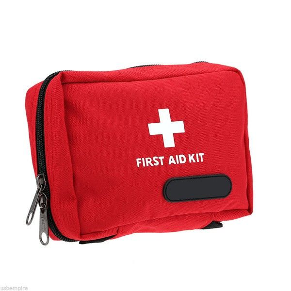 Outdoor Tactical Emergency Medical First Aid Pouch Bags Survival Pack Rescue Kit Empty Bag