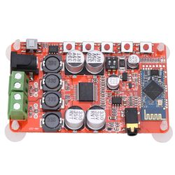 Digital TDA7492P Nirkabel Bluetooth 4.0 Amplifier Papan Audio Receiver DC 8 ~ 25 V 50 W + 50 W Amplifier papan Bagian Komponen L3FE