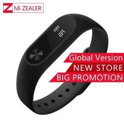 Mondial Version Xiaomi Mi Bande 2 Smart Bracelet Bracelet Miband 2 Fitness Tracker Android Bracelet Smartband Moniteur de fréquence Cardiaque