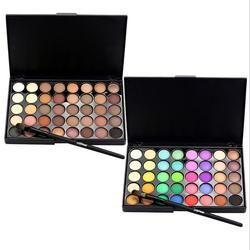 40 цветов Popfeel макияж для глаз матовые блестящие тени для век алмазные шиммерейные праймеры светящиеся тени для век женский подарок