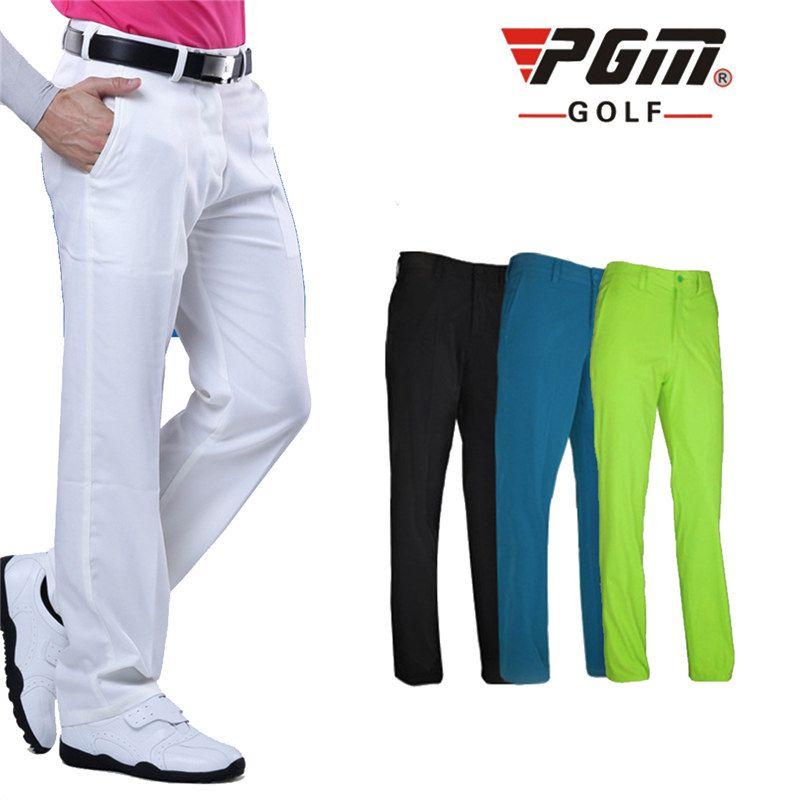 Ropa de los Pantalones de Golf de los hombres A Prueba de agua Deportes Golf Pantalones de Secado rápido Pantalones Respirables 4 Colores XXS-XXXL Arriba Elástico Durable
