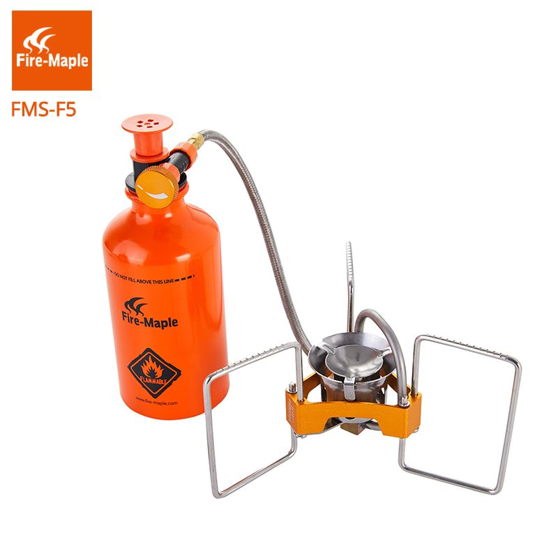 Fire Maple Petrol Stove TURBO Outdoor Camping Portable Gasoline Burner Cooking Equipment <font><b>Multi</b></font> Fuel Stove With Pump FMS-F5
