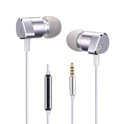 Alwup UPC630 Double Unit Driver Earphone Dinamis Balanced Armature Driver Hybrid Pro HD untuk Ponsel Xiaomi iPhone