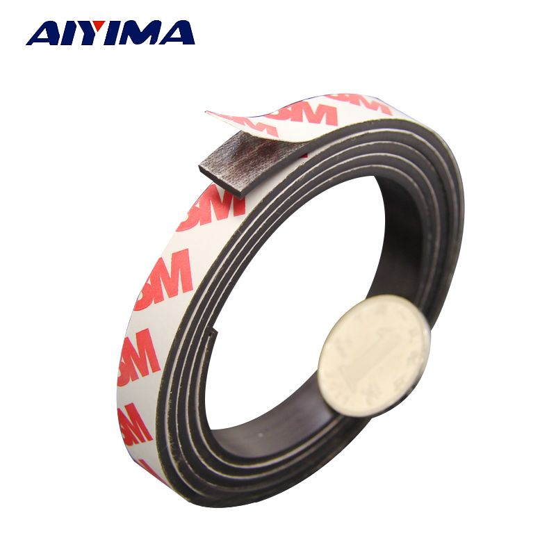 5M Stripe magnets Rubber soft magnet 10*2MM strong magnetic tape for diy Office family school