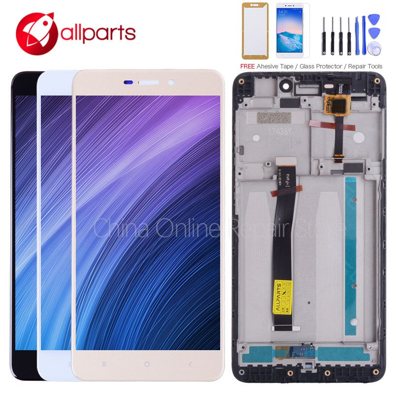 ALLPARTS 5.0 LCD For XIAOMI Redmi 4A LCD Display <font><b>Touch</b></font> Screen Digitizer Replacement For XIAOMI Redmi 4A Display