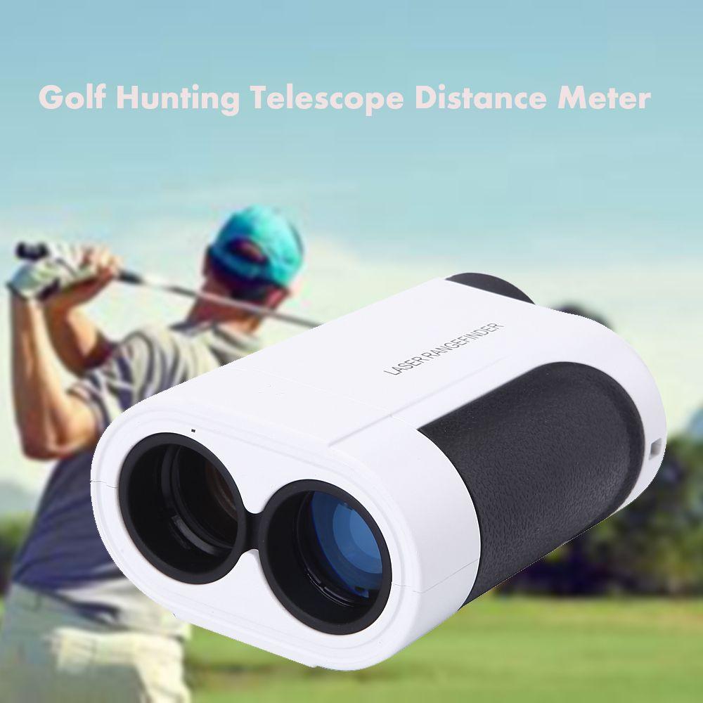 600m 6X Handheld Laser Distance Meter Monocular Telescope Laser Range finder Golf Rangefinder Golf Hunting measure telescopio
