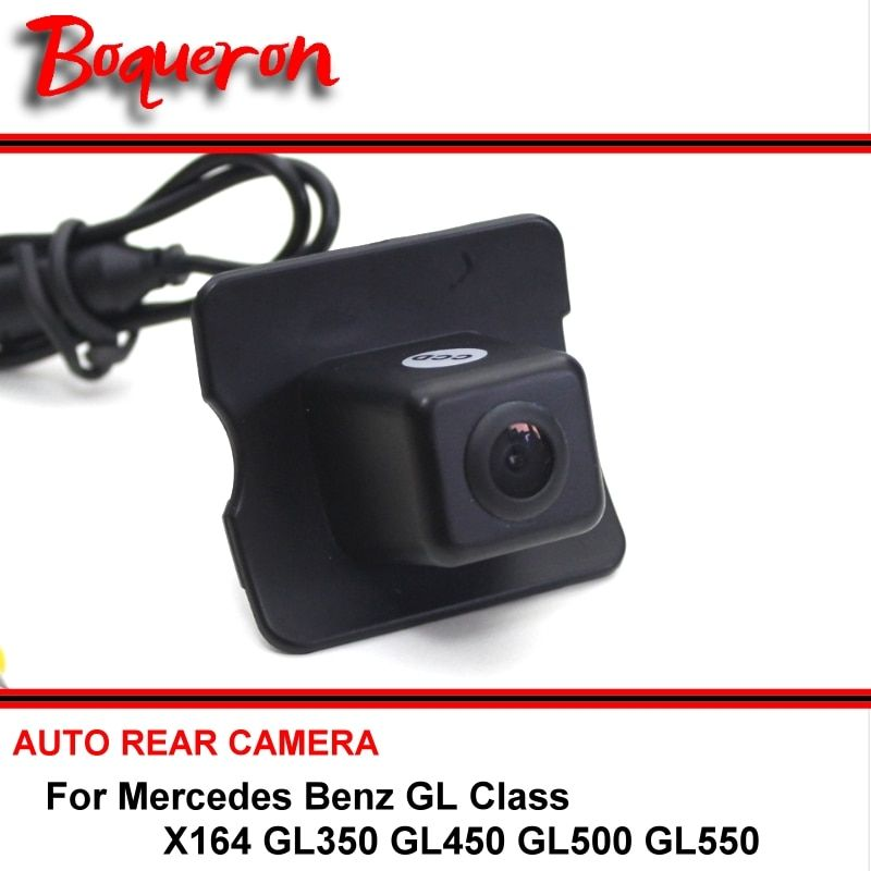 Reserved Hole For Mercedes Benz MB GL X164 GL350 GL450 GL500 GL550 CCD HD Reversing Camera Car Parking Camera Rear View Camera