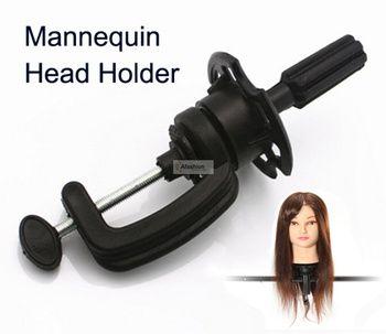 1 pc Réglable Titulaire Mannequin perruques stand pour mannequin tête Manik cheveux Formation modèle coiffeurs salon styling outils