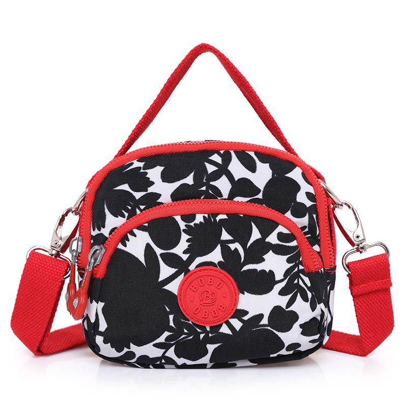 Sacs Messenger pour femmes sac à main en Nylon pour femmes sac à bandoulière de voyage pour femmes de haute qualité petit sac à bandoulière décontracté Mini sacoche