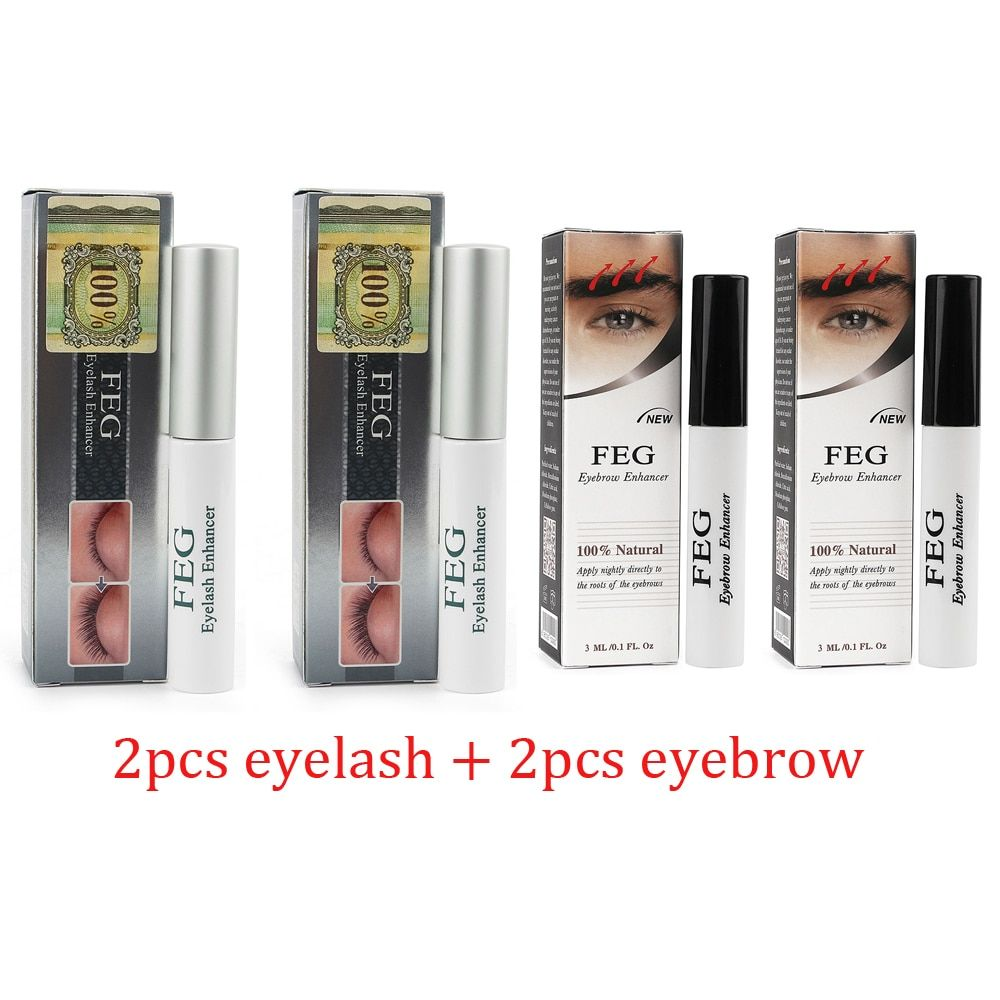US Stock Herbal Eyelash Eyebrow Growth Treatments Liquid Serum Enhancer Mascara Eye Lash lengthening Thicker Curling