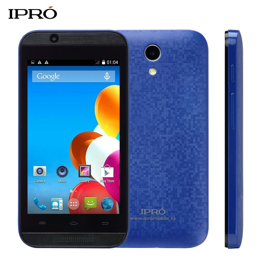 Original IPRO WAVE 4.0 Cheap Android Smartphone 4.0 Inch Touch Wifi Dual Sim China 3G WCDMA Mobile Phones International Version