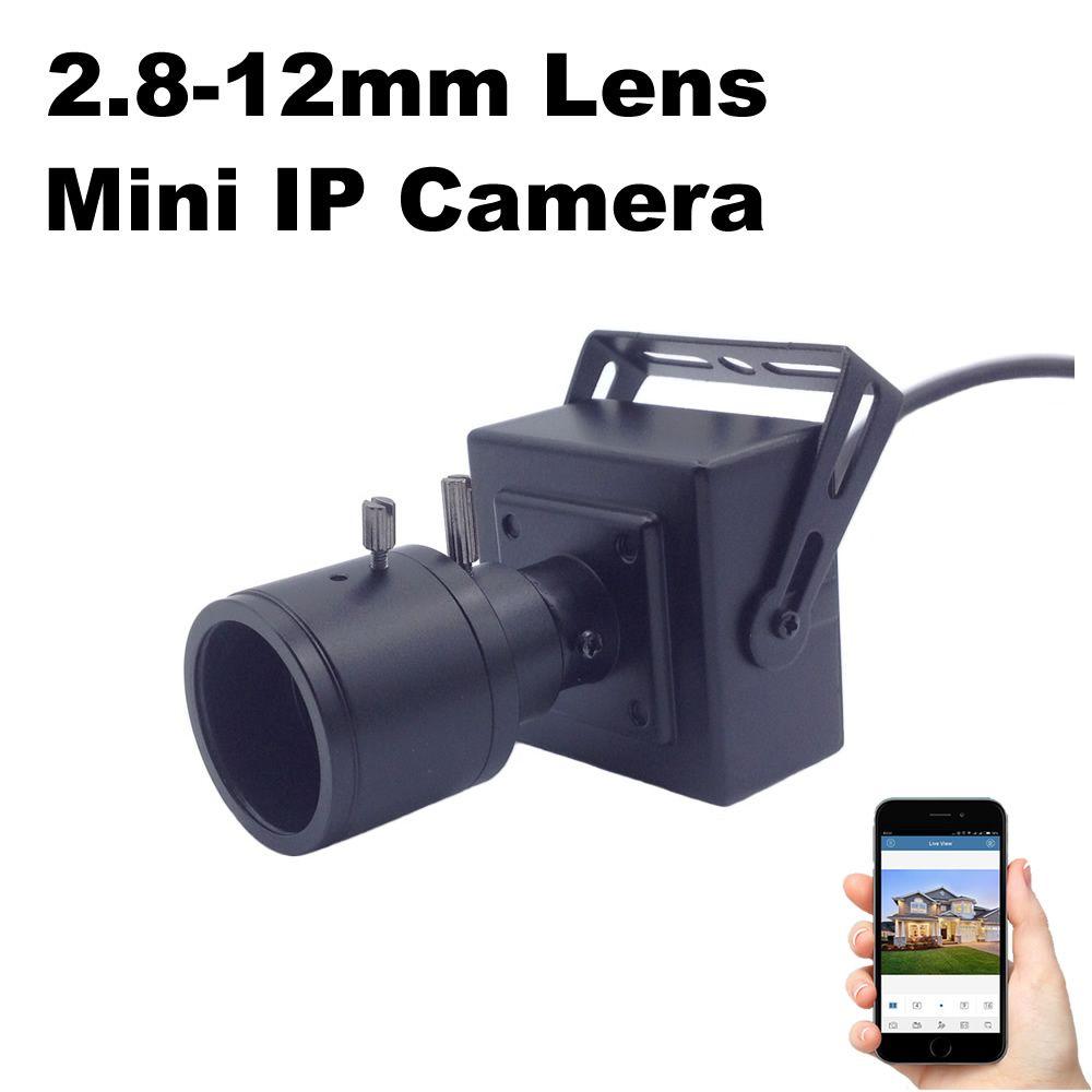 Ip-kamera Mini Vario-objektiv 2,8-12mm 1080 P/960 P/720 P Überwachungskamera 2MP Metall Mini Cctv-kamera