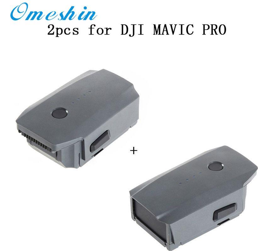 Heißer verkauf 2 stücke 3830 mAh Intelligente Flug Batterie für DJI Mavic Pro QuadCopter Drone drop verschiffen 0425
