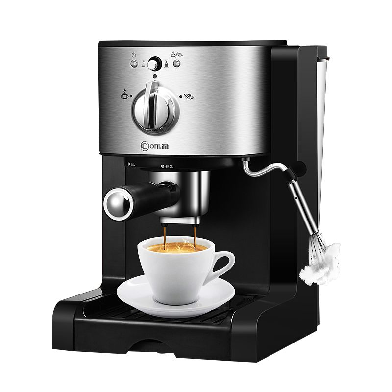Donlim DL-KF500 Kapsel kaffee maschine Haushalts Espresso maschine Halbautomatische Kommerziellen Dampf milch schaum 20BAR
