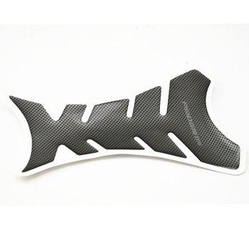 Шт. 1 шт. Универсальный углеродного волокна бак мотоцикла Pad Protector стикеры рыбья кость Стиль Мотоцикл масляный бак s