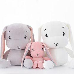 lucky boy sunday cute rabbit plush toy stuffed soft rabbit doll baby kids toys animal toy birthday christmas gift for her