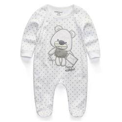 Bébé Vêtements 2018 Nouveau Nouveau-Né combinaisons de Bébé Garçon Fille Barboteuse Vêtements À Manches Longues Infantile Produit