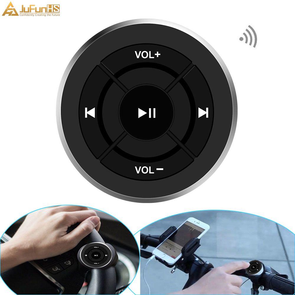 Sans fil Bluetooth télécommande voiture volant moto vélo guidon médias bouton pour iPhone pour Samsung Android téléphone
