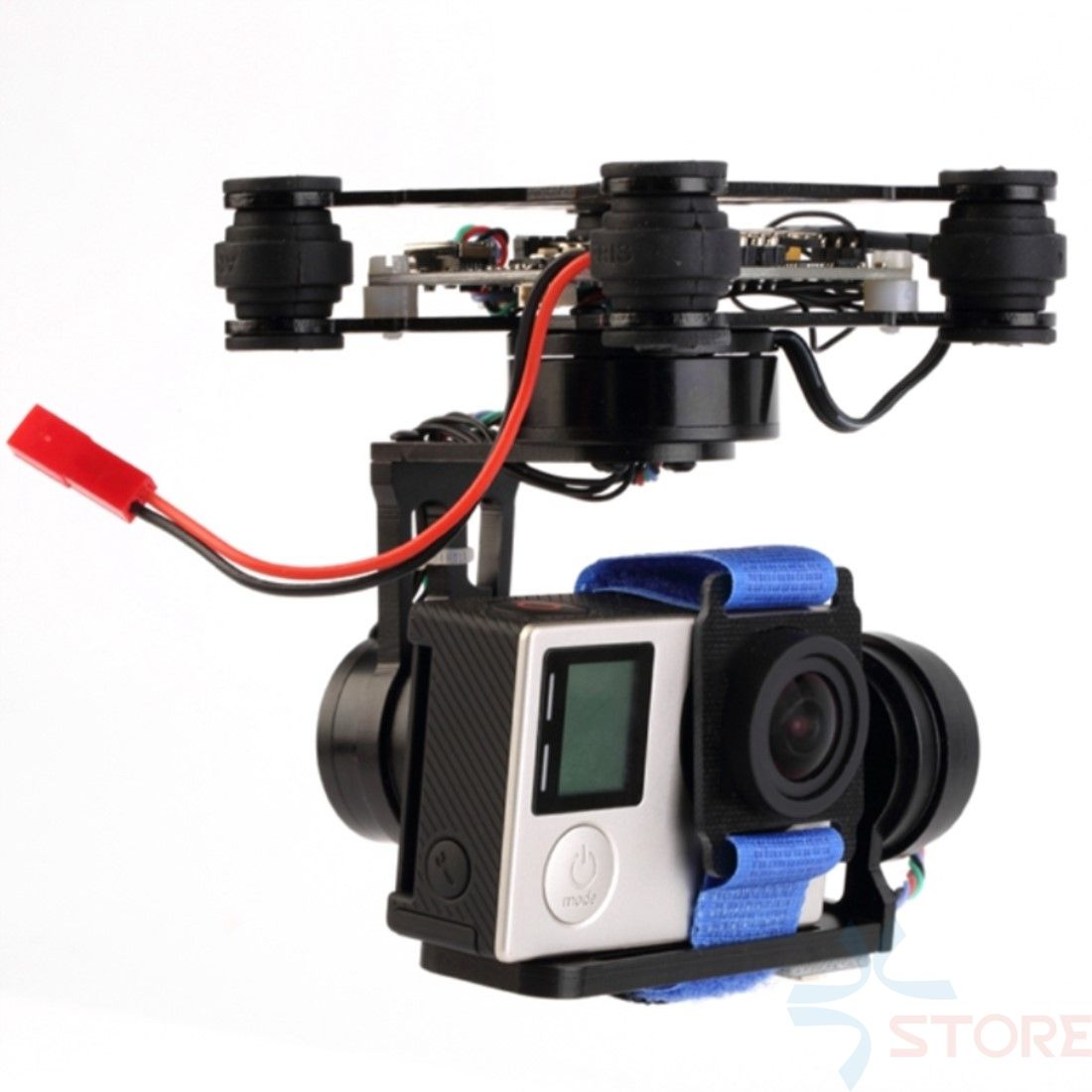 3 Axis assembled Brushless Gimbal Frame With Motors & Storm32 Controlller for Gopro 3 4 Xiaomi Xiaoyi SJ4000 SJCAM FPV RTF