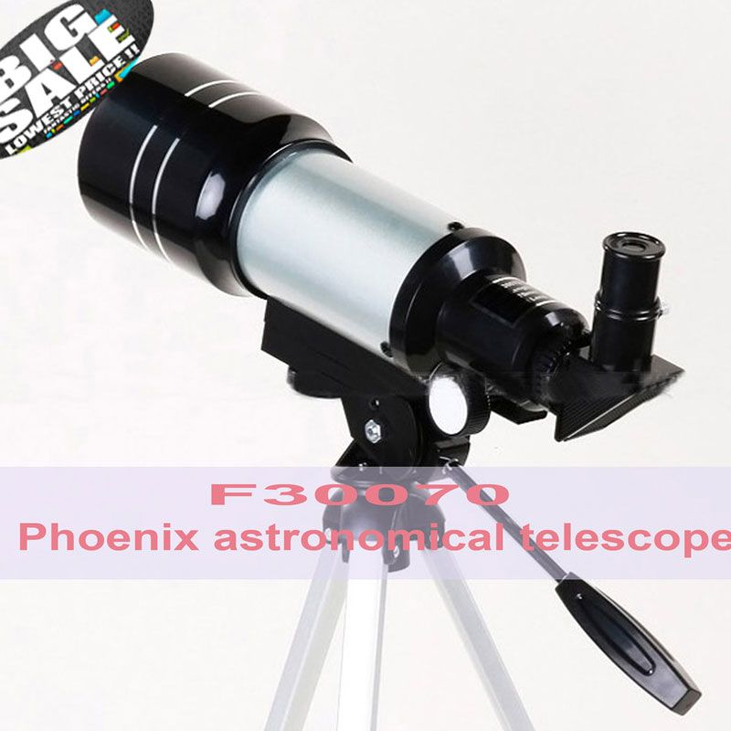 Top Quality Zoom HD Outdoor Monocular Space Astronomical Telescope With Portable Tripod Spotting Scope 300/70mm telescopio