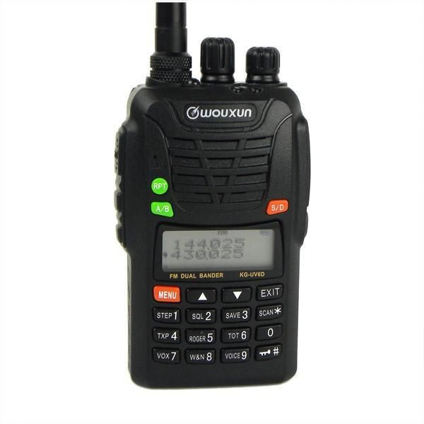 Wholesale Wouxun KG-UV6D Dual Band VHF/UHF Professional FM portable radio KG-UV6D radio set WOUXUN KG UV6D walkie talkie