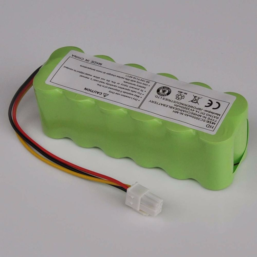 14.4V SC NI-MH Rechargeable Battery Pack 3500mAh Vacuum Cleaner Robot For Samsung NaviBot SR8840 SR8845 SR8855 SR8895 VCA-RBT20
