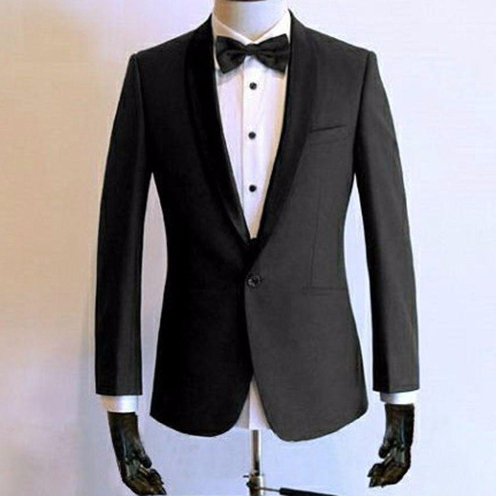 Zwei-stück Anzug Hochzeit Anzüge Für Männer Nach Maß Holzkohle Grau Smoking Männer, Bespoke Tailored Bräutigam Smoking, kostüm Homme Mariage